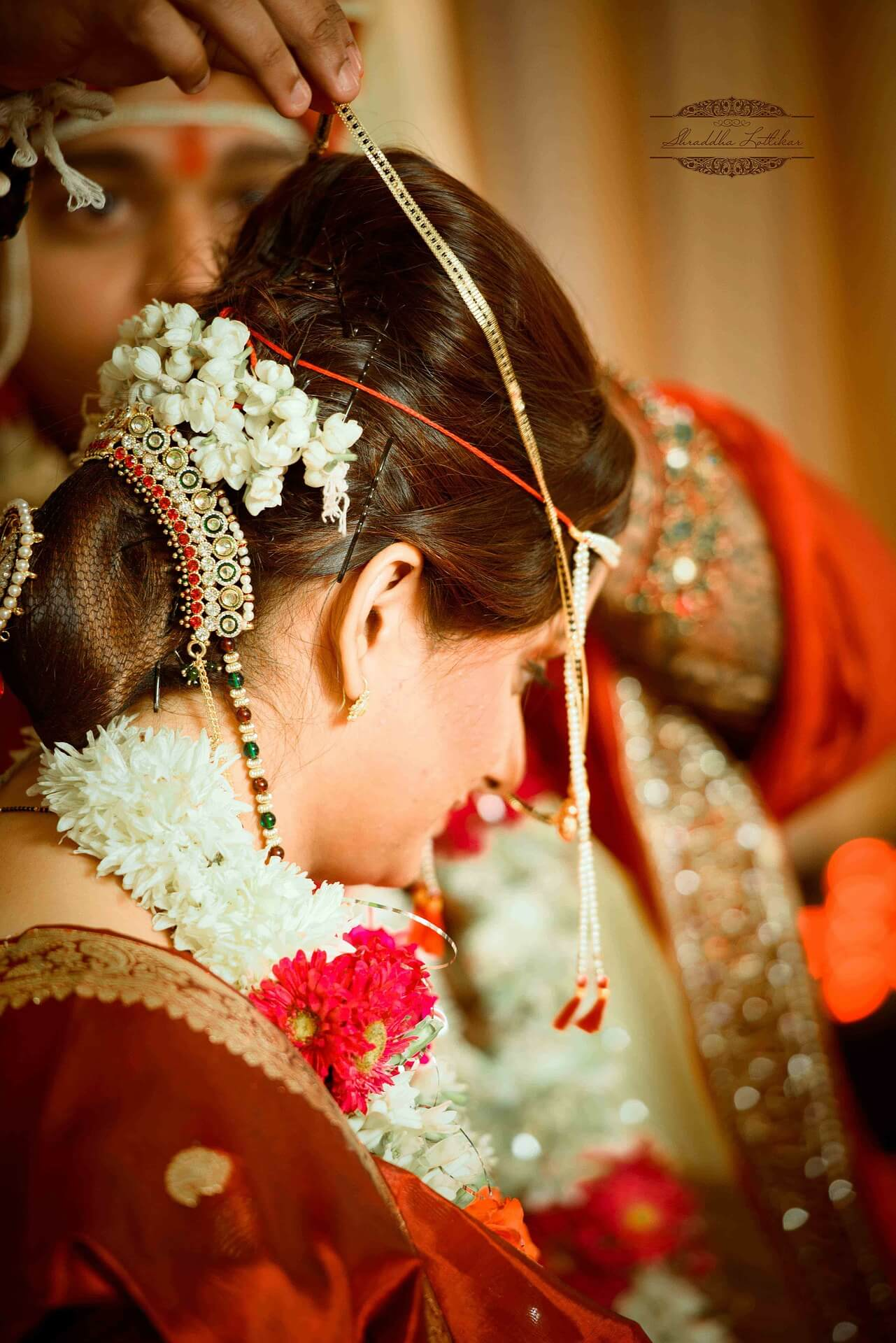 Traditional Indian Bridal Look