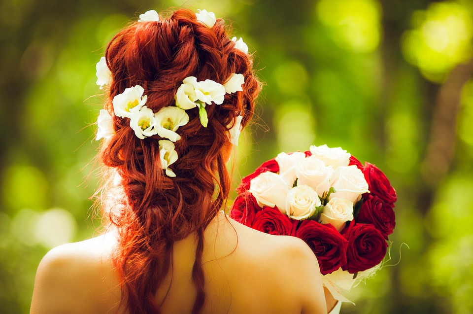 Marriage Function Hairstyle