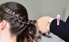 saree hairstyles for long hair