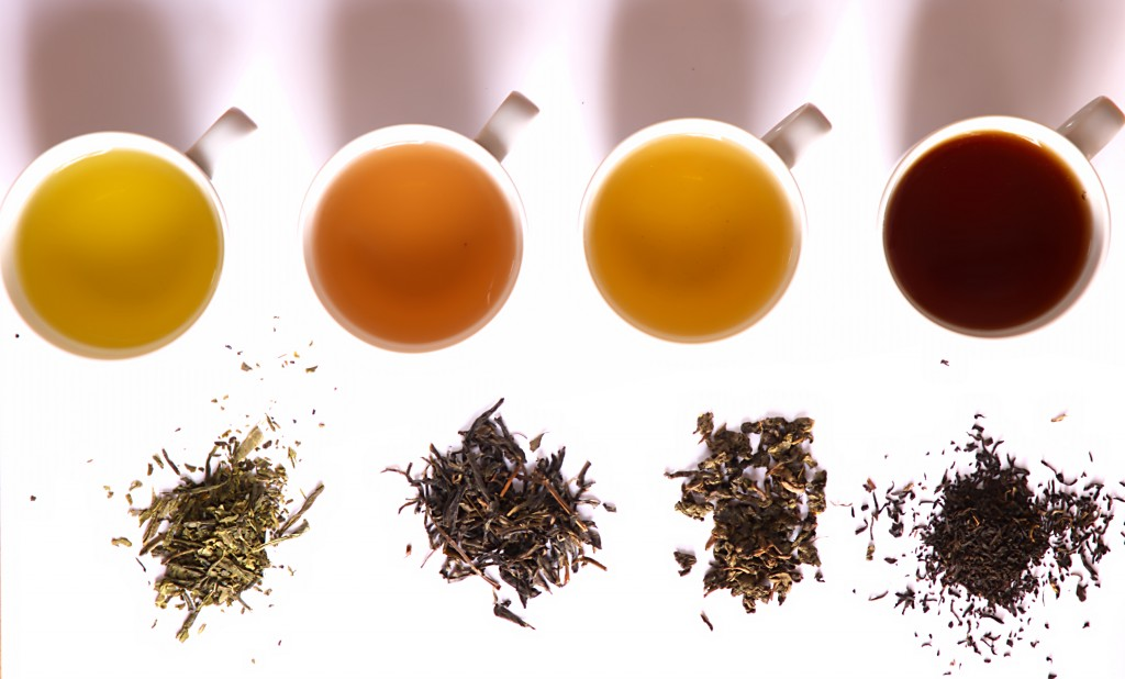 Black Tea And Green Tea