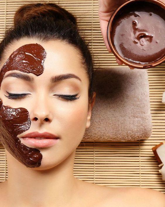 chocolate facial benefits