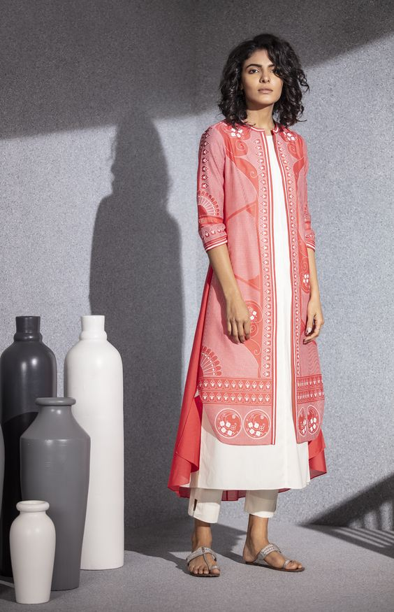 Kurta With Jacket