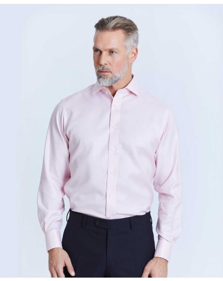 Thomas Pink Westward Stripe Slim Fit Button Cuff Shirt