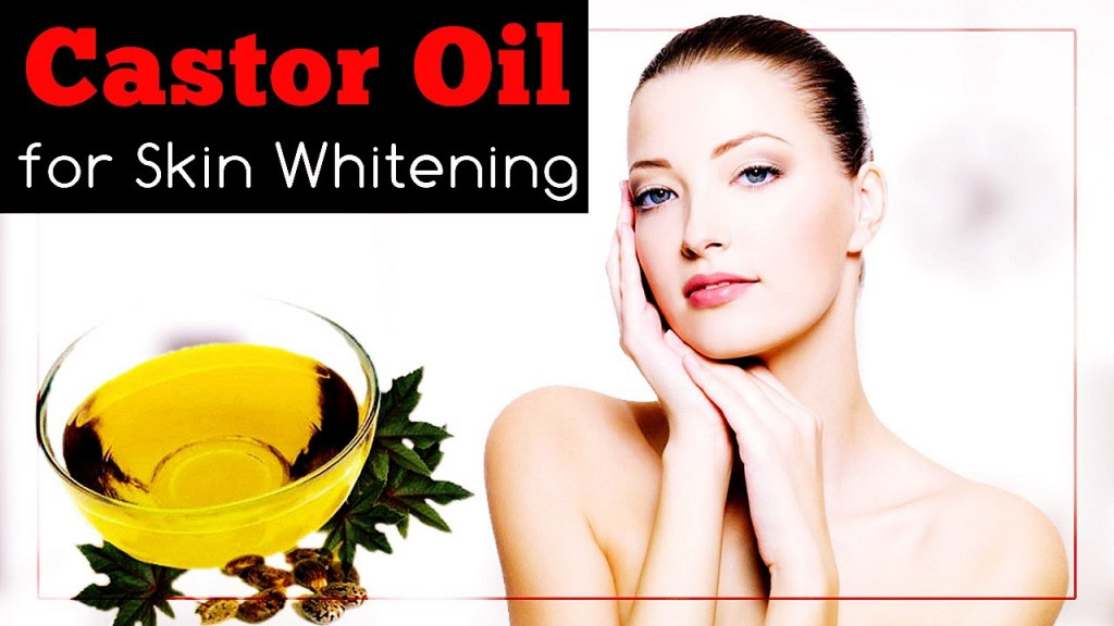 WAYS TO USE CASTOR OIL FOR SKIN WHITENING