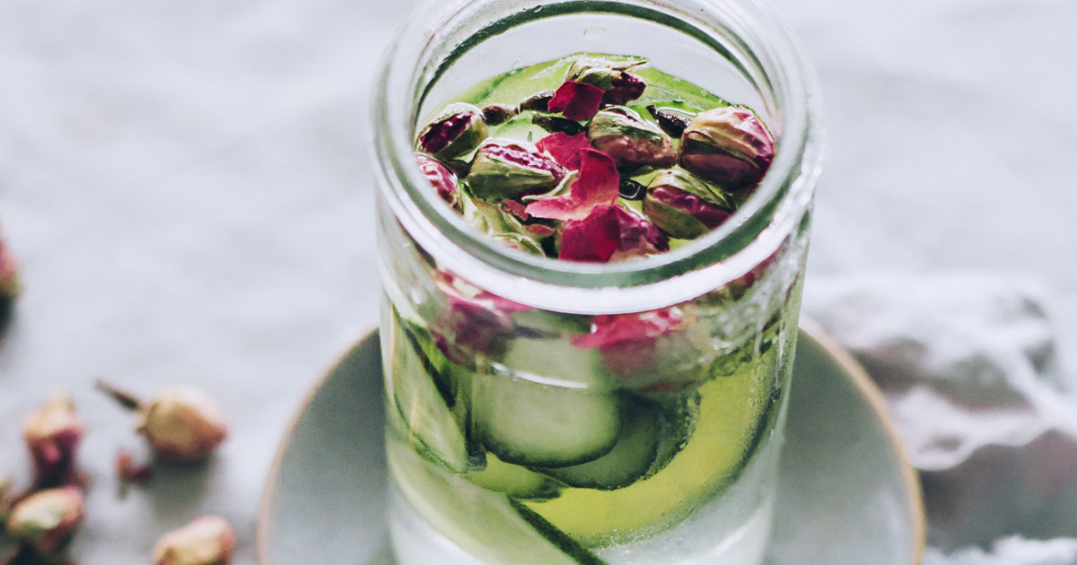 Cucumber And Rose Water