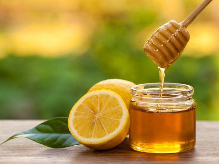 Honey And Lemon Paste