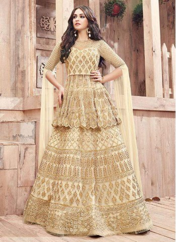 Lehenga with Long Choli