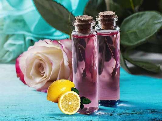 Lemon And Rose Water Paste