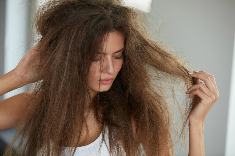 Reduce Frizziness Of Hair