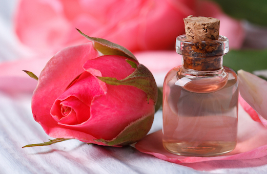 Rose Water And Glycerin For Skin Whitening