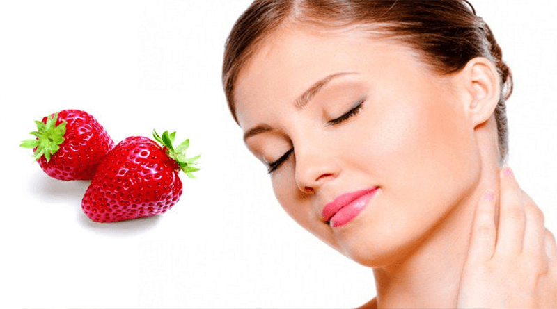 Strawberry Benefits for skin