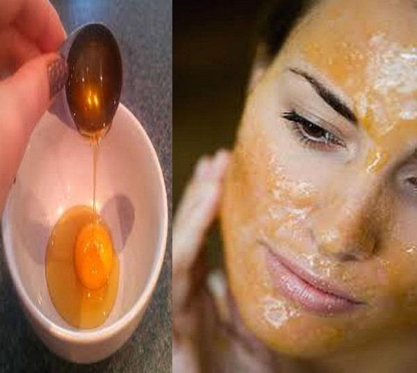 Egg Yolk Face Mask For Anti-aging