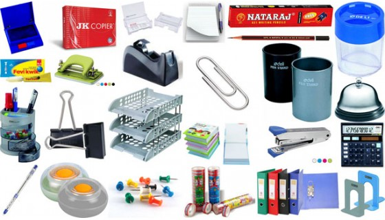 Office Stationery List For Daily Use