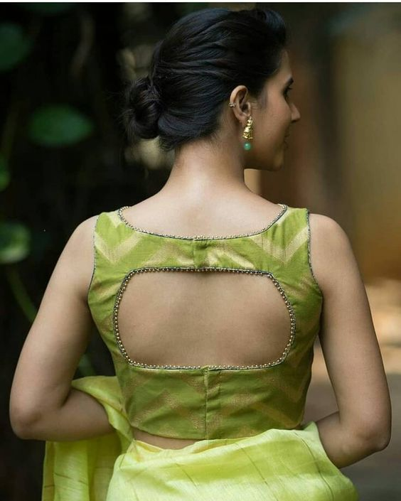Blouse Back Neck Designs Fashion Home And Beauty