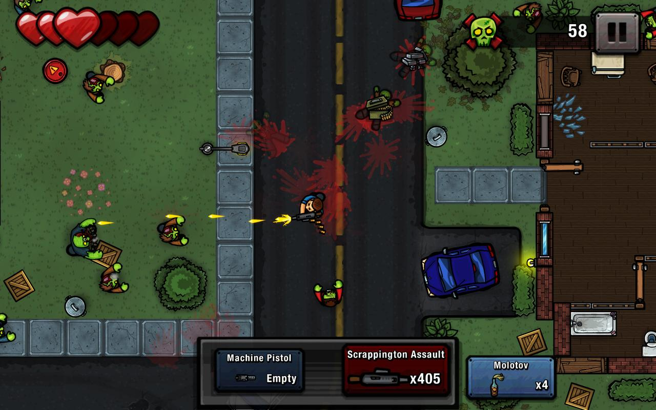 Zombie Scrapper Shooting Game