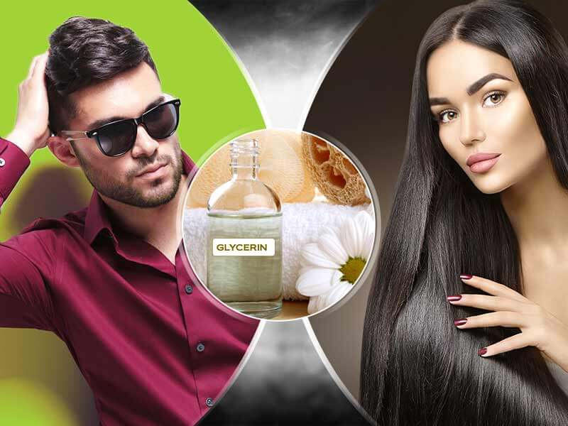benefits of glycerin for hair
