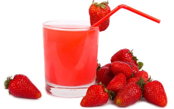 strawberry juice benefits for skin