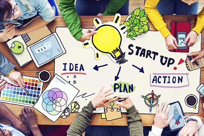 how to start startup in India