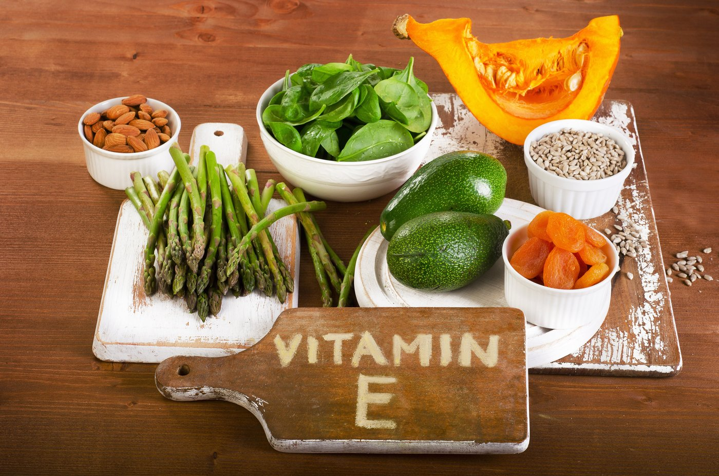 vitamin E foods for hair