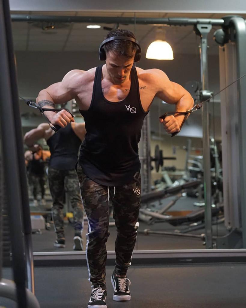 beginner gym workout male