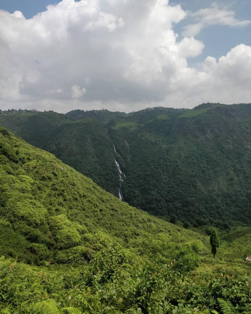 Sky-View Of Indo-Bangladesh Border
