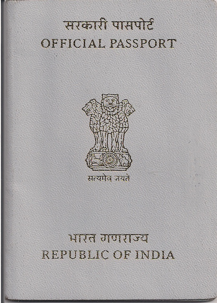 Official Passport Or White Passport