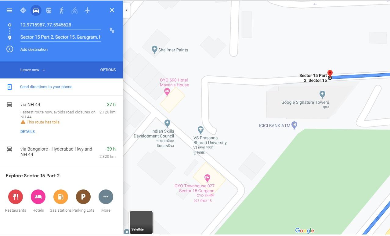 google office gurgaon
