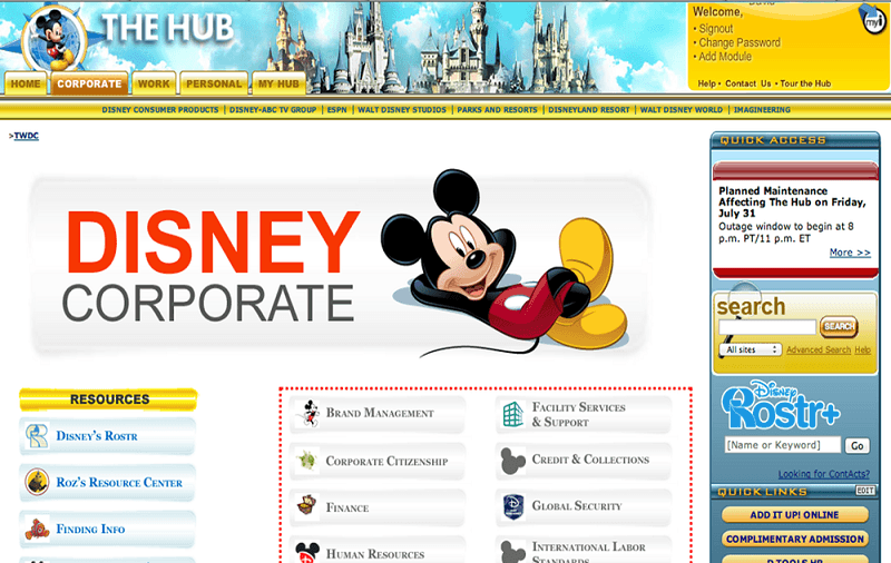 What Is The necessity for Disney Enterprise Portal