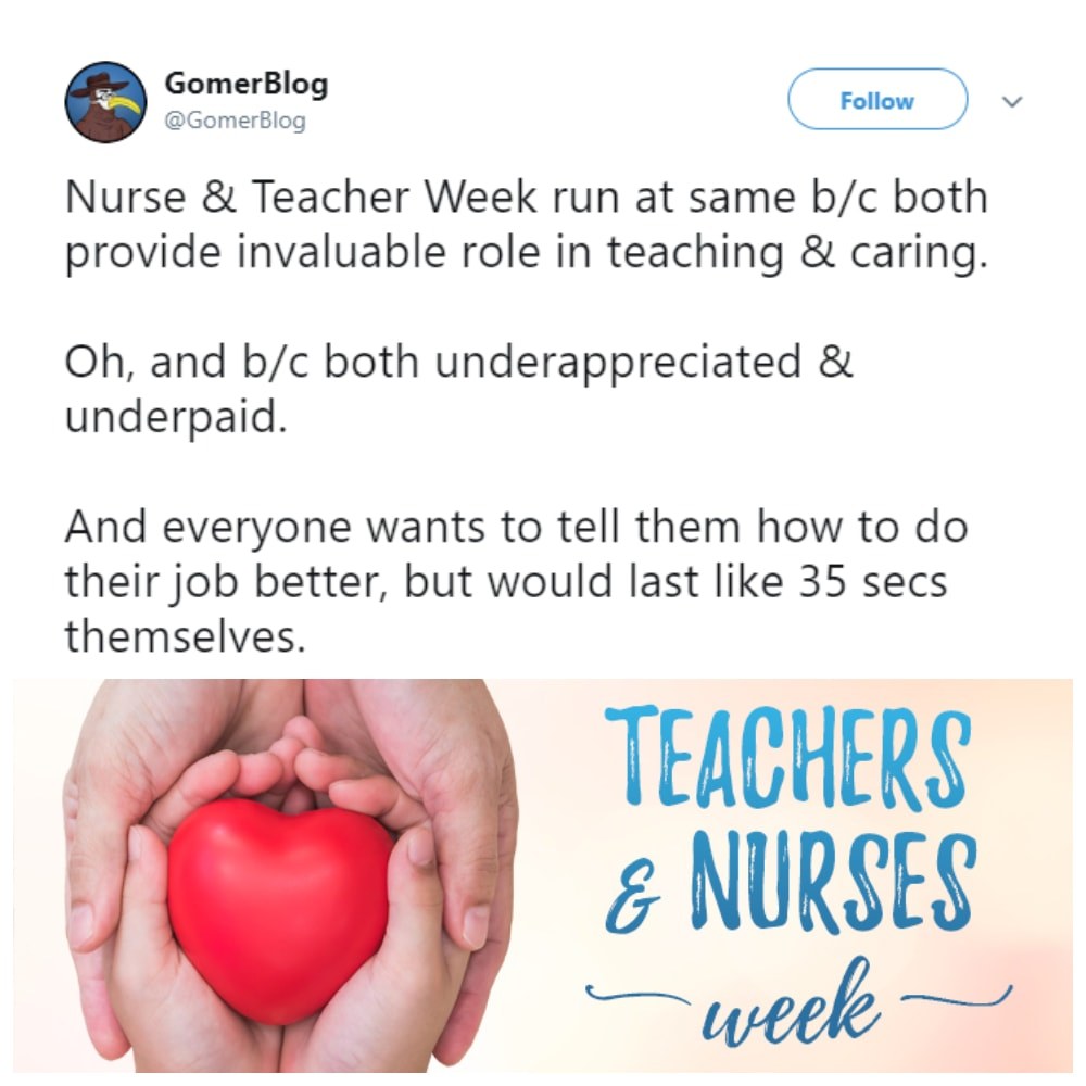 This's for Both the Nurses & Teachers