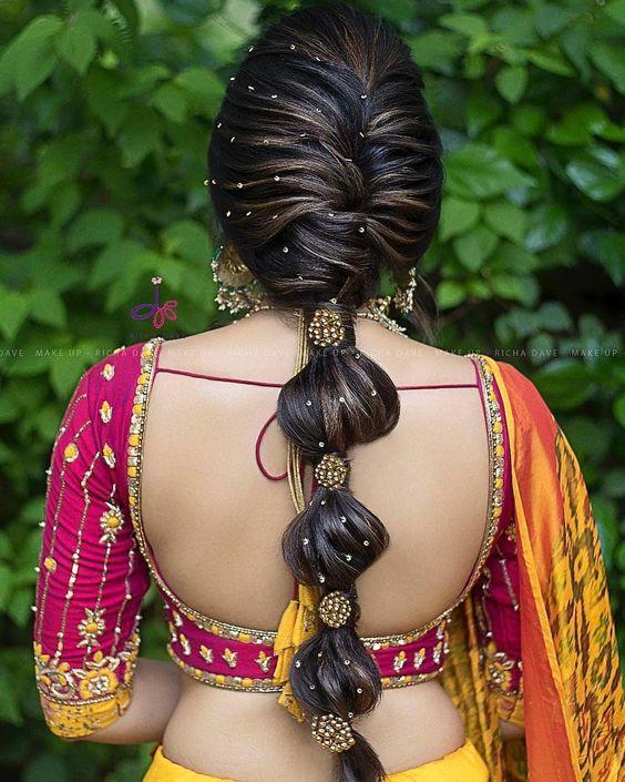 Maharashtrian Bridal Hairstyles