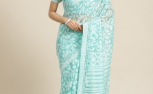 chiffon sarees are portrayed as the best decision